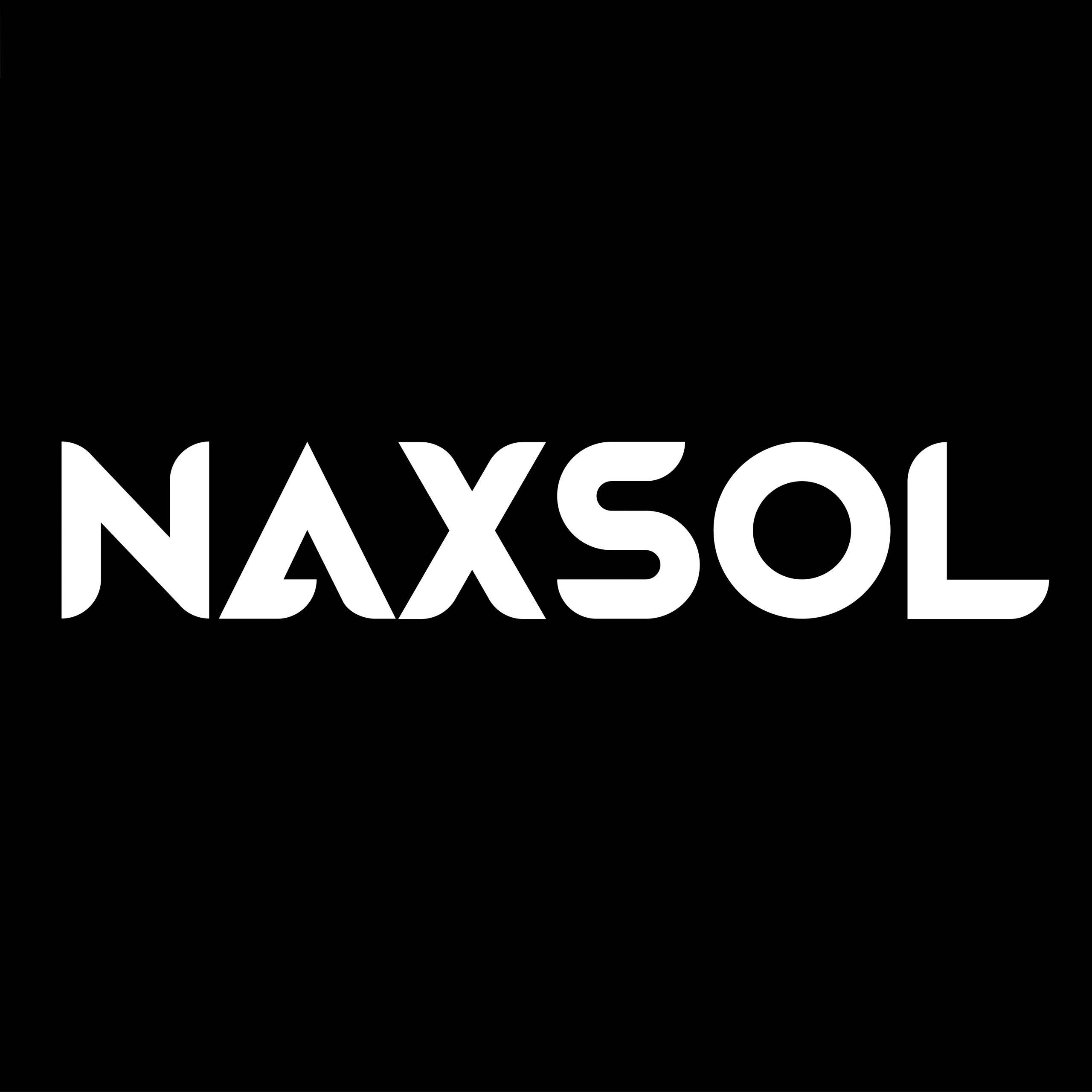 naxsol - brand logo design - corporate branding